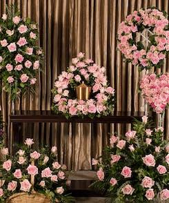 Pink Rose Memorial Series