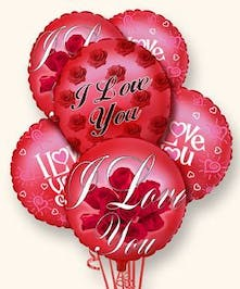 Say I love you with this fun bouquet of balloons