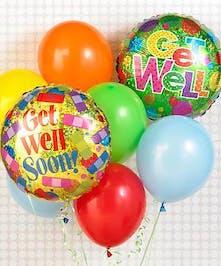 Lift their spirits with this fun balloon bouquet!