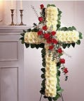 Rose Standing Cross