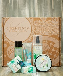 Lotus Blossom & Jasmine Spa baskets Griffins Spa Baskets Columbus Ohio