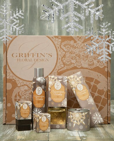 Wintertime Wishes Aroma Gift Set Griffins Aroma & Candle Baskets Columbus Ohio