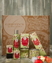 Merry Memories Gift Set Griffins Aroma & Candle Baskets Columbus Ohio