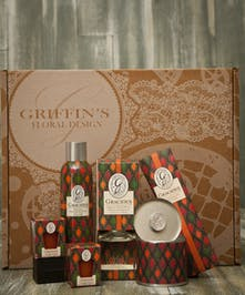 Gracious Aroma Gift Set Griffins Aroma & Candle Baskets Columbus Ohio