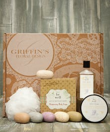 Simple Be Well  Combo Soap & Lotion Gift Set Griffins Spa Baskets Columbus Ohio
