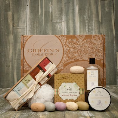 Deluxe Simple Be Well  Combo Soap & Lotion Gift Set Griffins Spa Baskets Columbus Ohio