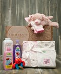 Baby Girl 5 Piece Gift Set