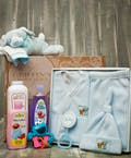 Baby Boy Fleece Gift Set
