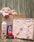 Baby Girl Fleece Gift Set