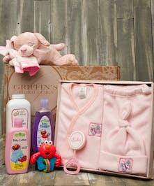 Baby Girl Fleece Gift Set Columbus Ohio Baby Gift Baskets