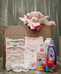 Baby Girl 7 Piece Gift Set