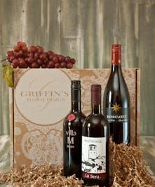 Sweet Red  Wine Baskets Columbus Ohio