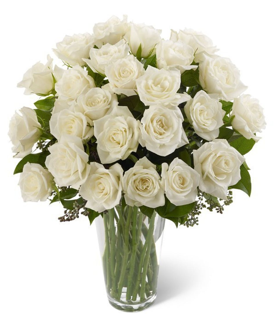 Baby Boy White Rose New Baby Flowers Columbus Florists