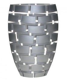 Silver Wall Vase by Badash