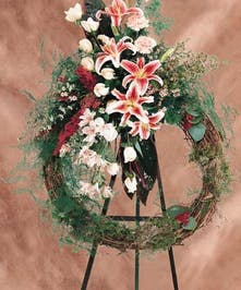 ETERNAL BEAUTY SYMPATHY WREATH