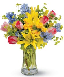 Spring Bouquet Delivery Columbus & Newark, OH - Griffin's Floral Design