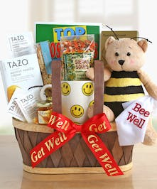 Bee Well Wishes Get Well Gift Baskets Columbus Ohio