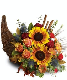 Bountiful Cornucopia Columbus Oh Florists Griffins