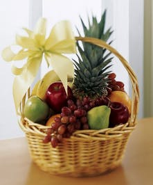 Fruit Basket With Pineapple