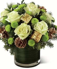 Holiday Presents Christmas Flowers Columbus Ohio Florists