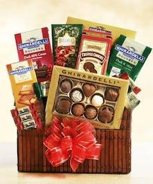 Classic Ghirardelli Chocolate Basket Columbus Ohio Chocolate Baskets