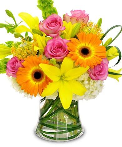 Colors of Magic Floral Arrangement