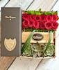 12 Roses & Dom Perignon Gift Set