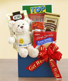 Fell Better Bear Get Well Gift Baskets Columbus Ohio