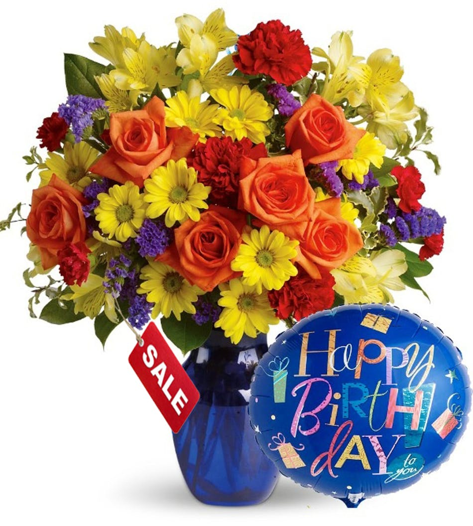 Birthday Balloons Flower Delivery Columbus Oh Griffins
