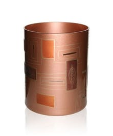 Geometrical Leaves Cylinder Vase by Womar