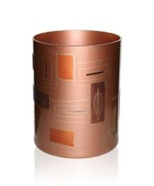 Geometrical Leaves Cylinder Vase by Womar