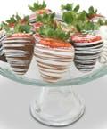 1 Dozen Chocolate Covered Strawberries Berries