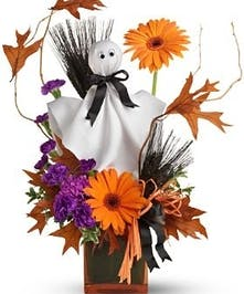 Ghostly Greetings Fall Flowers Halloween Columbus Florists Griffins