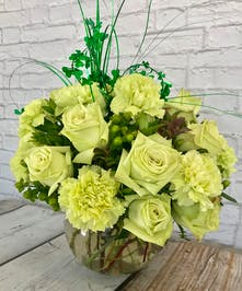 Lucky Rose And Carnation Bowl Columbus Ohio St Patricks Day