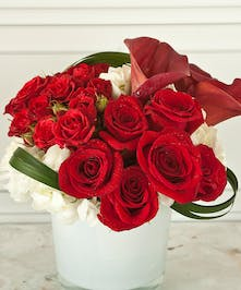 Red Sox  Valentine By Columbus Valentines Day Flowers Specialist Griffins Floral Design