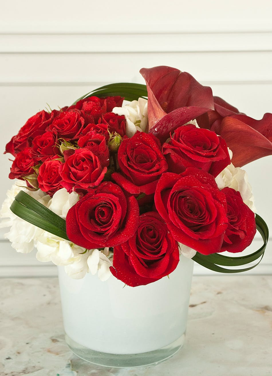 Red Sox Valentines Day Flowers Columbus Florists Columbus