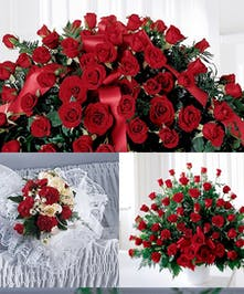 This stunning set of all Roses in a color of your choice is nothing short of stunning. Pick the whole set at a discount, or choose only the individual items you like.