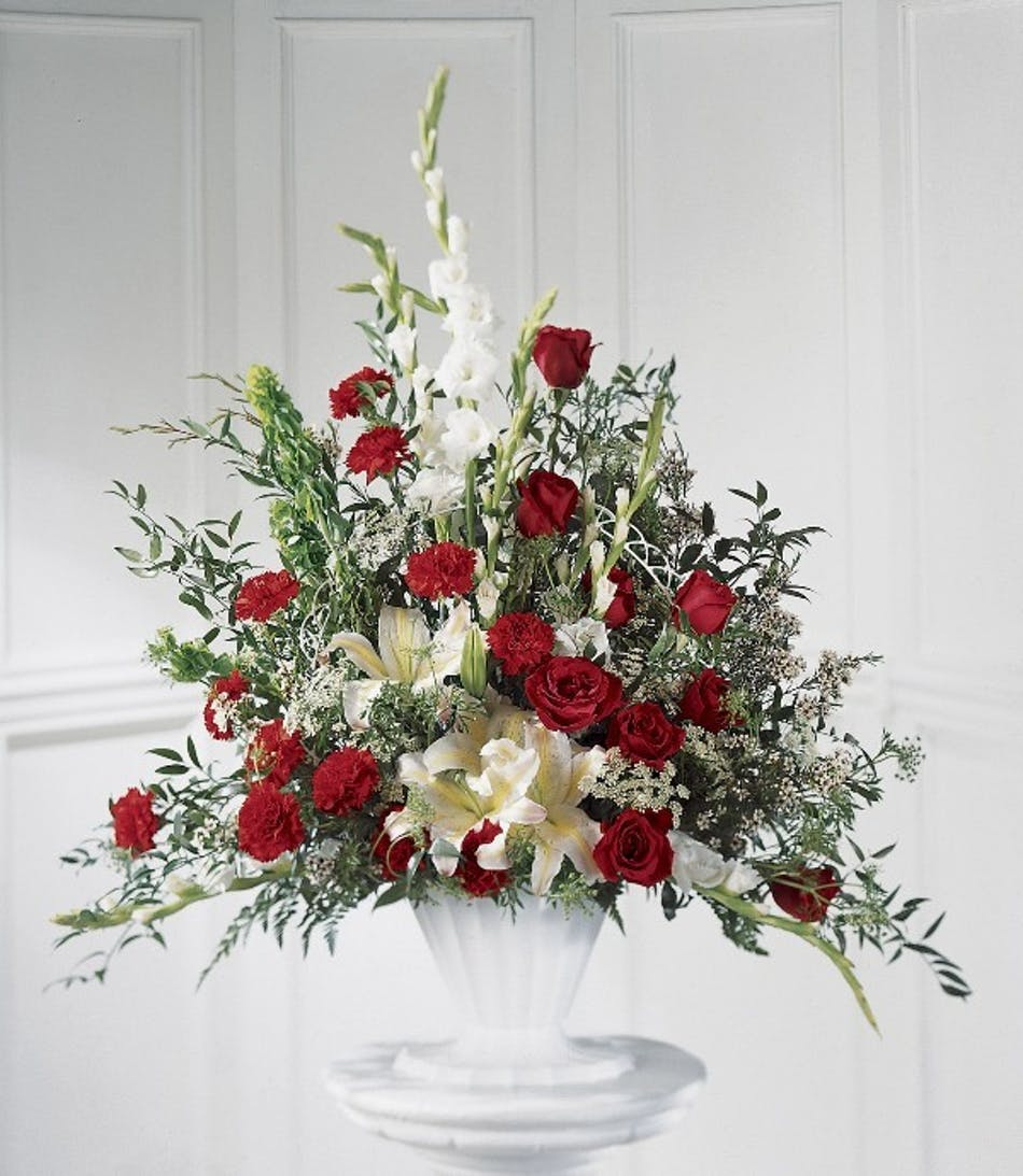 Classic Funeral Bouquet Delivery Columbus Oh Same Day Delivery