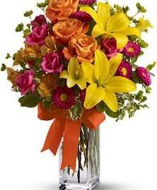 Summertime Splash Vase - Columbus (OH) Florist