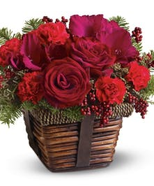 A special holiday flower mix