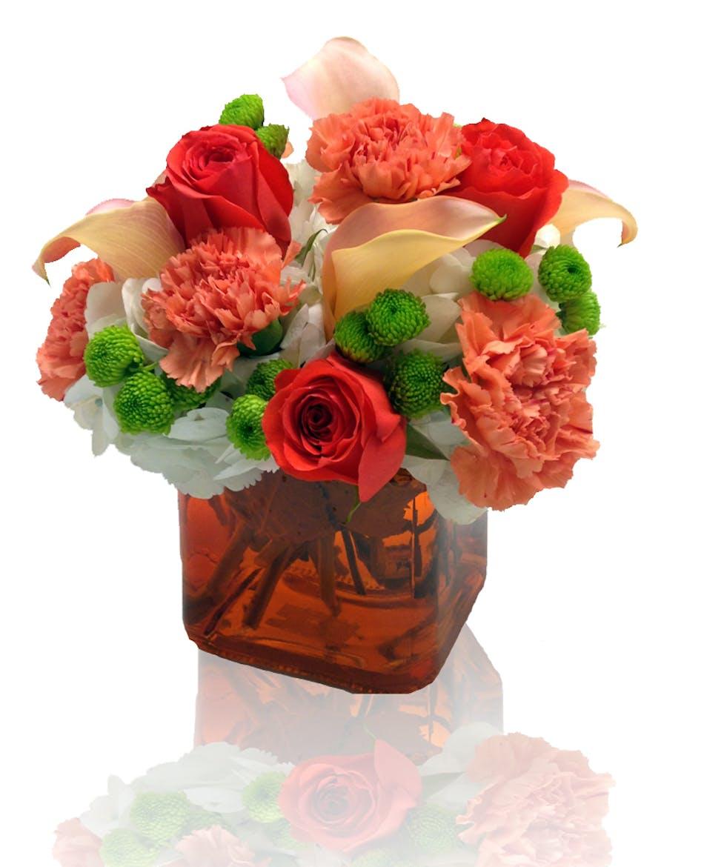 Tangerine Lady Columbus Florists Griffins Floral Design Ohio