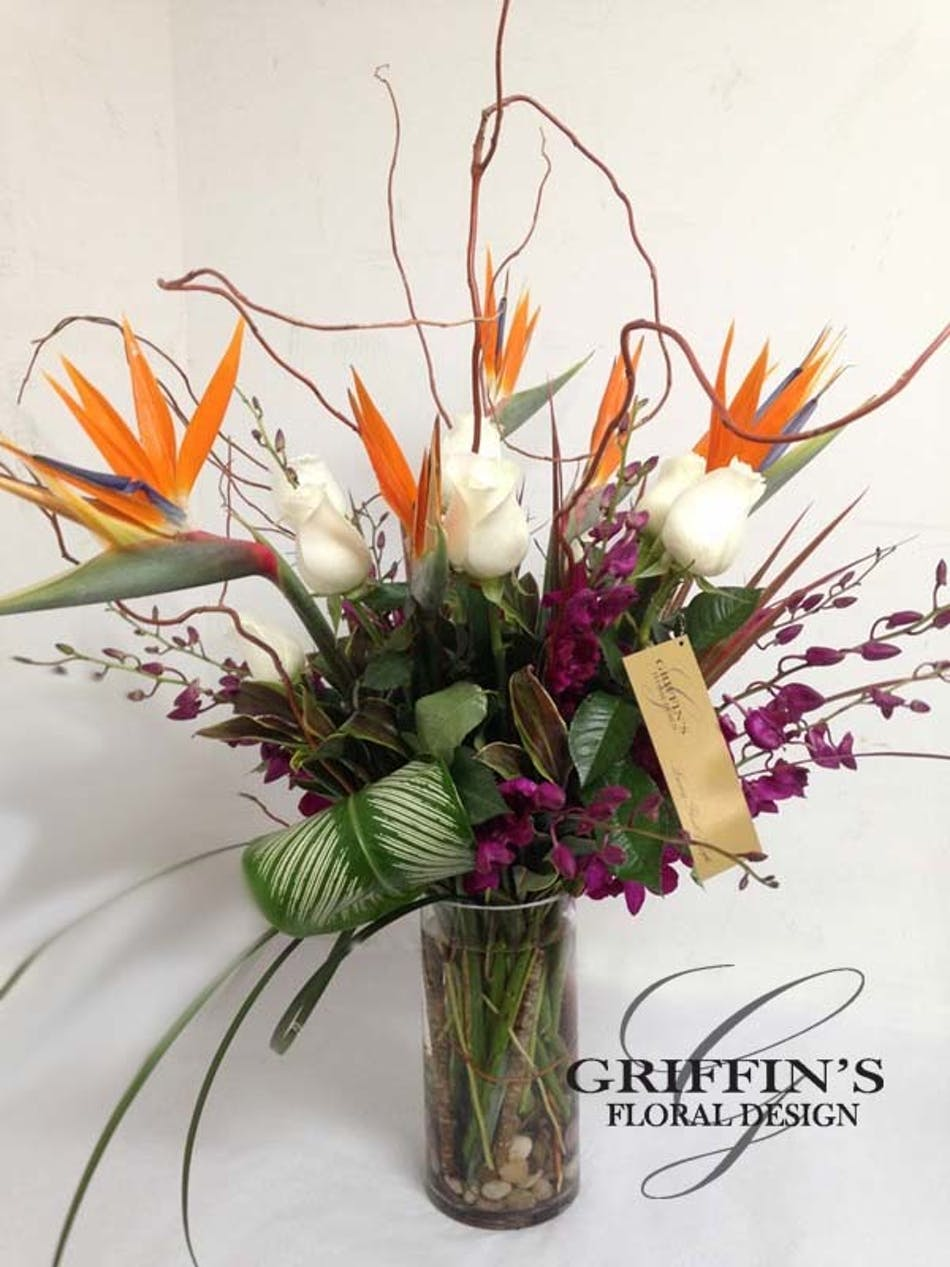 Tropical Vines Luxury Flowers Columbus Ohio