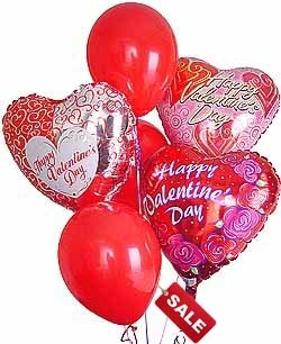 valentines balloon bouquet | valentines balloons | florists, Ideas