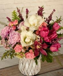 Victorian Garden Vase | Valentine's Day Flowers | Columbus Florists | Columbus Valentines Flowers