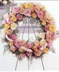 Rose Garden Standing Wreath