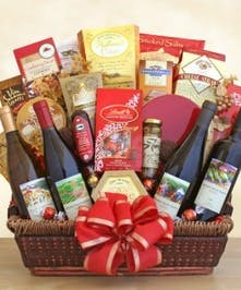 California Splendor Gourmet Wine Baskets Columbus Ohio
