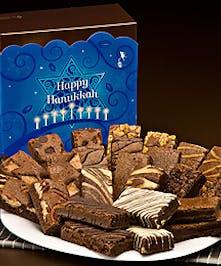 A special Hanukkah brownie mix