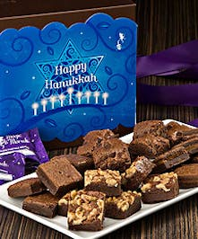 Hanukkah Brownie Morsels that are sure to delight!