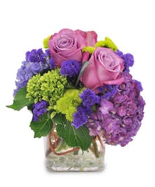 Purple Skies  Birthday Flowers Columbus Ohio
