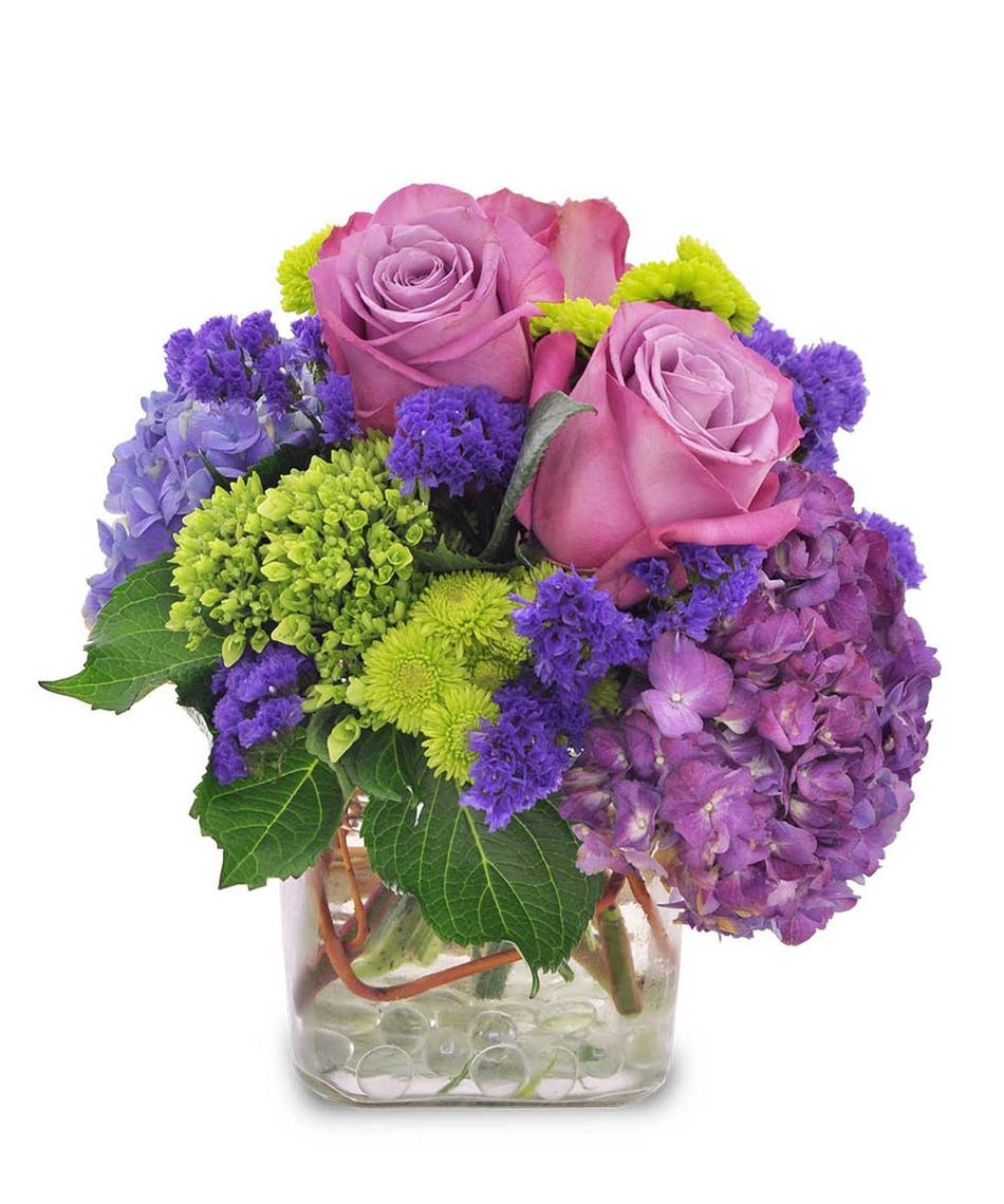 Griffins floral purple skies columbus oh birthday flowers purple skies birthday flowers columbus ohio izmirmasajfo
